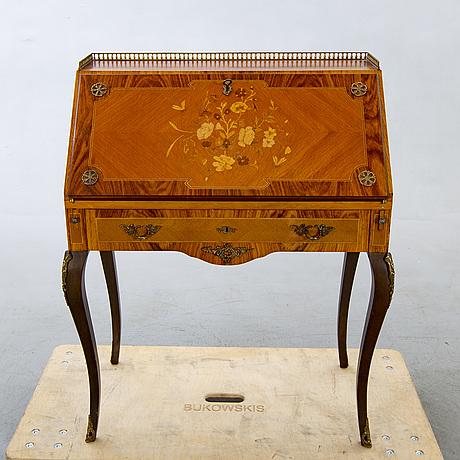 Sekretär louis xv-stil 1900-talets mitt.