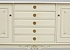 A gustavian style sideboard, second half of the 20th century.