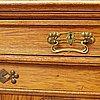 An oak art nouveau cabinet, early 20th century.
