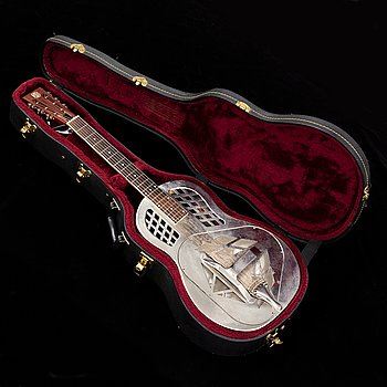 Acoustic guitar, Republic Tri-cone 200 resonator, 21st century.