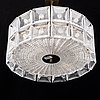 Carl fagerlund, ceiling light, orrefors.