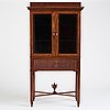 A late gustavian cabinet by gottlieb iwersson, (master in stockholm 1778-1813).