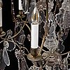 A mid 20th century rococo-style ceiling light,