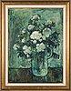 Olavi laine, oil on canvas, signed.