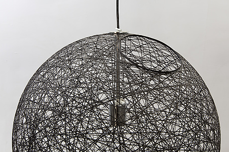 "Bertjan pot, taklampa, ""random light medium"", moooi. formgiven 2001."