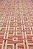 Sigvard bernadotte, matto, flat weave, ca 512-515 x 247-253 cm, signed sb.