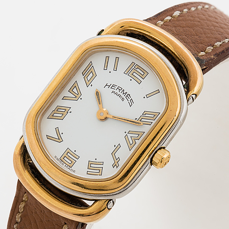 Hermès, rallye, wristwatch, 20 x 24 (31) mm.
