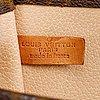 Louis vuitton, 'sac plât', 1970's.