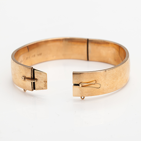 A 14k gold bracelet. ny toivo, helsinki 1964.