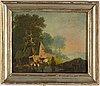 Okänd konstnär, omkring 1800. olja på duk.