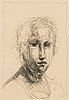 Kuutti lavonen, etching, signed and dated 2008, numbered 4/75.