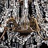 A chandelier, late 19th century.