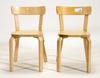 Stolar, ett par, design alvar aalto.