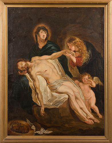 Unknown artist, 18th century, oil on canvas.