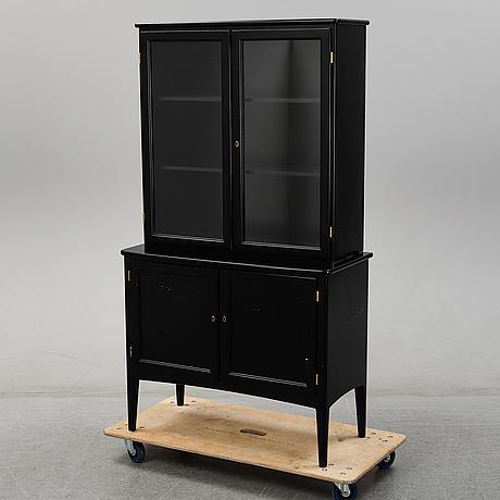 A 'charlotte' vitrine cabinet by kerstin hörlin-holmquist for asko, 1970's.