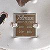 Four 1950's '80112-15' ceiling/plafond/wall lights for idman, finland.
