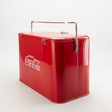 Kylbox, coca-cola, 1900-talets mitt.
