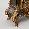 A french mantle clock, 19th century.