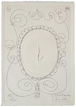 """760. Lucio Fontana, """"Concetto spaziale""""."""