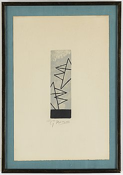 Georges Braque, after, etching, signed and numbered 135/250.