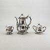 Cohr kaffeservis 3 dlr silver svenska importstämplar.