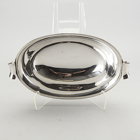 A danish 20th century silver bowl 1930 (?), weight ca 805 gr.