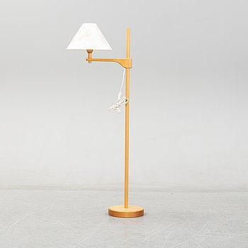 Carl Malmsten, a 'Staken' floor lamp.
