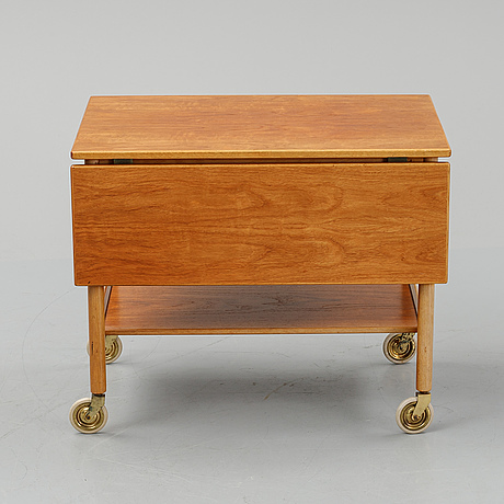 A mid 20th century swedish serving trolley from gemla.