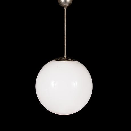 A 1930/1940's pendant light for idman.