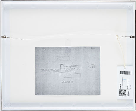 Georg oddner, photograph copyright stamp by georg oddner and tiofoto on verso.