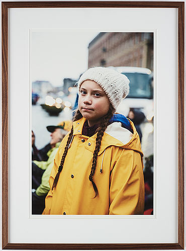 Adam karls johansson, photograph signed and numbered 2/25 on verso.