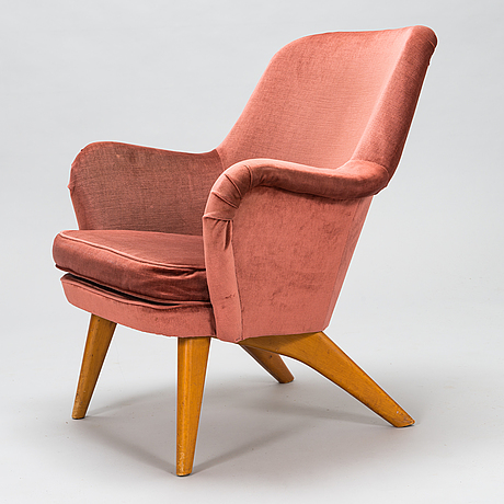 Carl gustaf hiort af ornäs, 1950s 'pedro' armchair for puunveisto oy - wood work ltd.