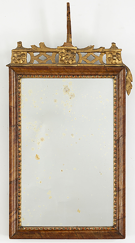 An 18/19th century mirror.