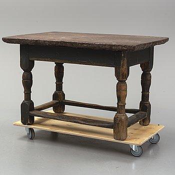 A Baroque table, 18th Century.