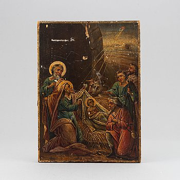 An icon, Russia, 19th Century.