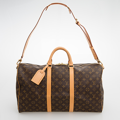 "Louis vuitton, ""keepall bandouliere 50"", laukku."
