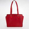 Louis vuitton, a epi leather douplex bag.