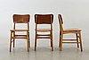 Ib kofoed larsen, stolar 4 st danmark 1950-60-tal.