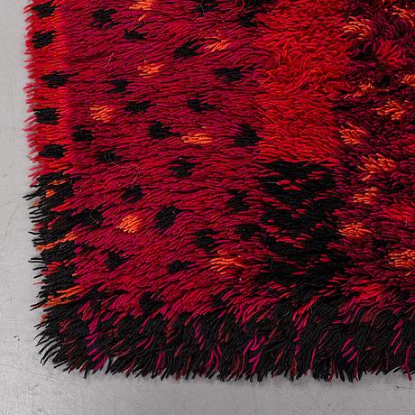 Marianne richter, a carpet, machine made pile, ca 190 x 135 cm, wahlbecks fabriker.