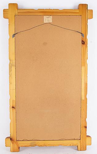 Spegel, glasmäster, markaryd, 1960-tal.