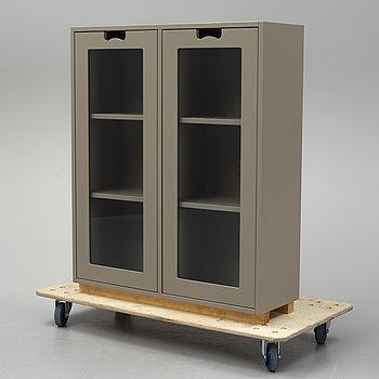 Jonas Bohlin & Thomas Sandell, a grey lacquered 'Snow' cabinet for Asplund, Sweden ca 2000.
