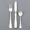 Erik löfman, silver cutlery 36 pcs.