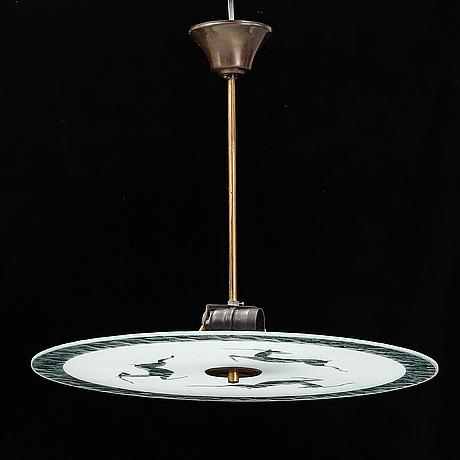 A 1940´s celing lamp.