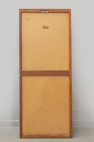 """Aksel kjaersgaard spegel """"nr 14"""" odder danmark 1960/70-tal."""