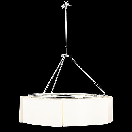 "Miguel milá, a ceiling light ""sexta"" for santa & cole, spain."