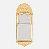A rococo mirror, second half of the 18th century.