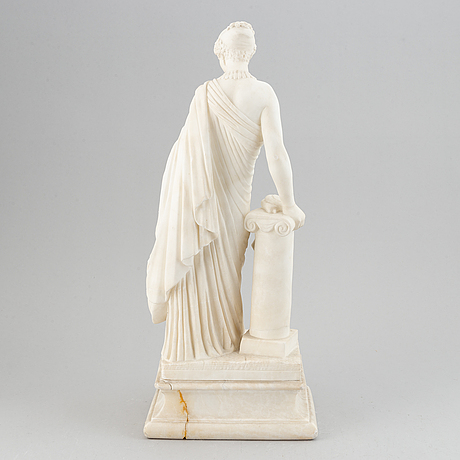 Sculpture, marble, most likely 19th century.