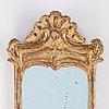 A rococo girandole mirror, second half of the 18th century.