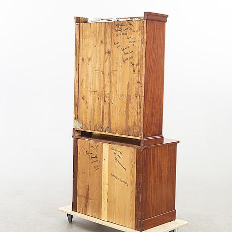 Bokskåp, mahogny, 1800-tal.