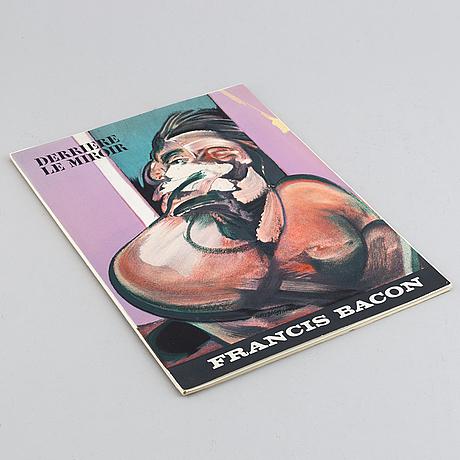 Francis bacon, derrière le miroir, no 162, 1966.